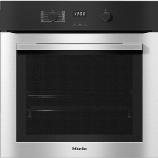 MIELE H 2760B Oven attractive stainless steel design with FlexiClip runners